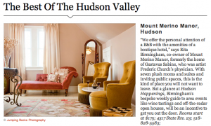 best of hudson valley, mount merino manor