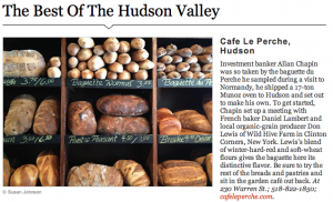 best of hudson valley, cafe la perche