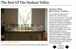 best of hudson valley, hudson wine merchants