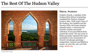 best of hudson valley, olana