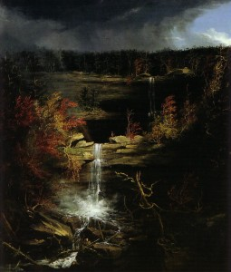 kaaterskill falls by thomas cole